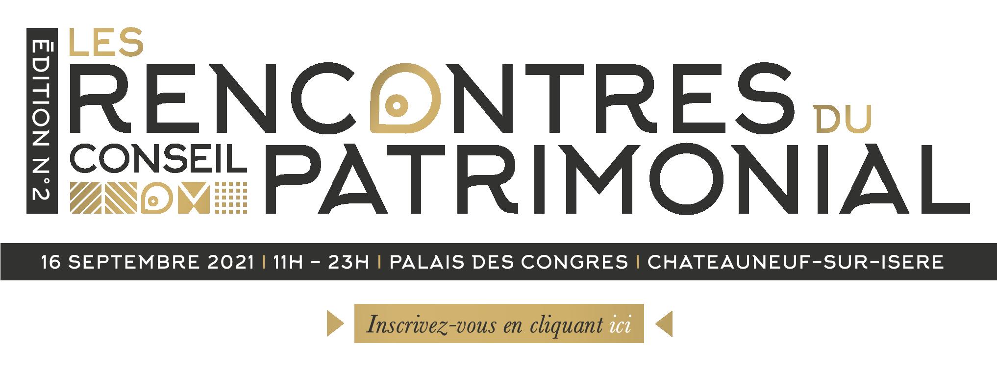 Invitation rencontres du conseil patrimonial
